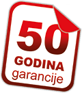 50 godina garancije