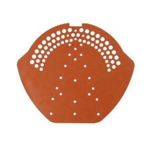 Završna perforirana pločica za žljebnjak